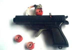 pistol dompis