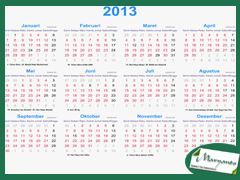 Kalender 2016indonesia | My Calendar Template Collection
